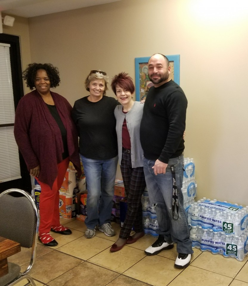 Community Service Donations to Street Teens